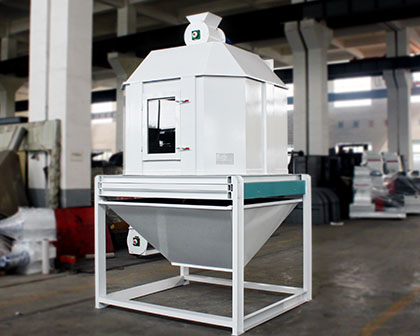 Feed Pellet Cooling Machine