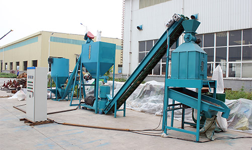 small pig feed pellet plant
