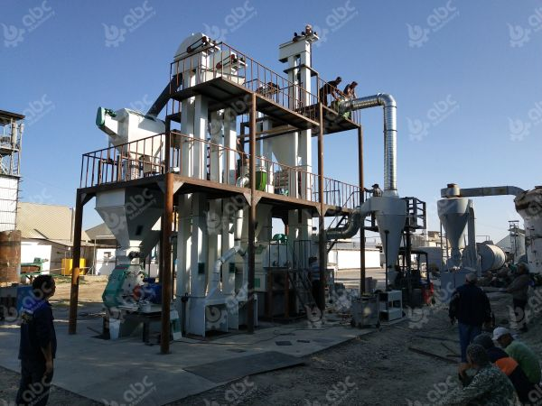 2-4TPH Animal Feed Manufacturing Plant for Cattle and Poultry