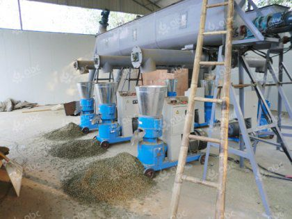 Small Feed Pellet Plant for Livestock Poultry Fish Farm Use
