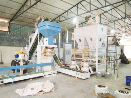 2TPH Cattle Feed Pellet Plant in China