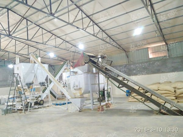 2TPH cattle feed pellet plant