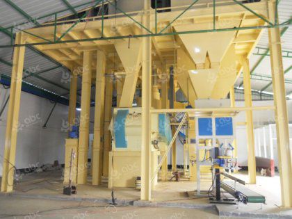 6-8TPH Chicken Feed Pellet Production Line