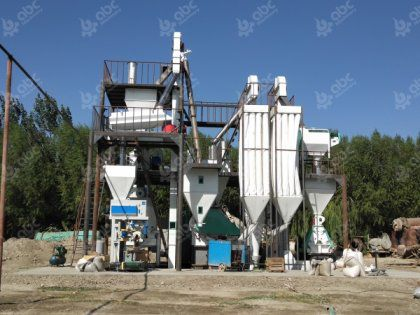 Animal Feed Manufacturing Plant for Cattle and Poultry in Uzbekistan