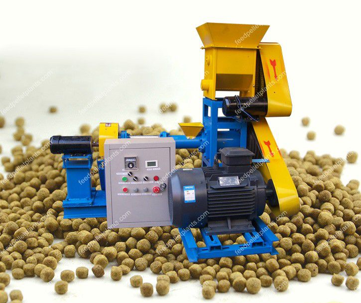 aqua fish feed processing machine
