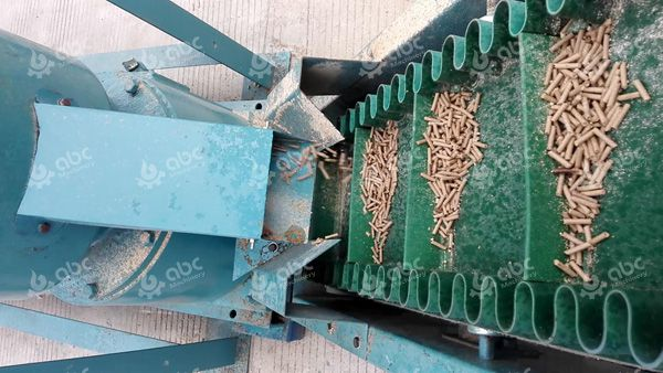 belt conveyor of STLP300 feed pellet plant