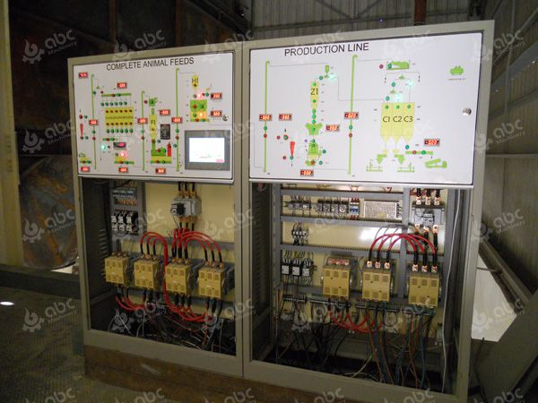 chicken feed pellet line electric control cabinet