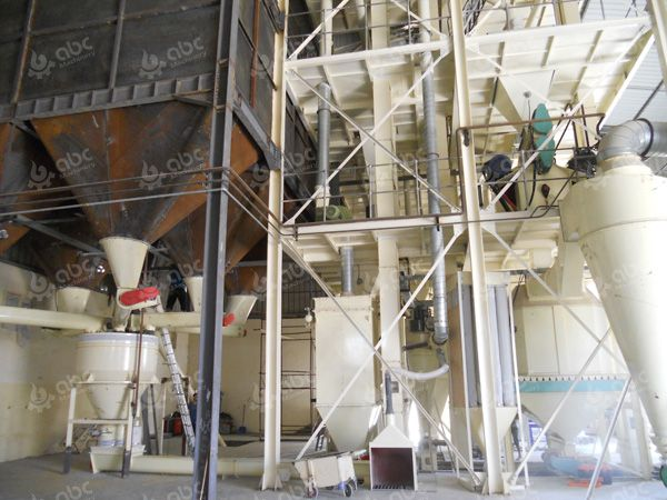large feed pellet production line