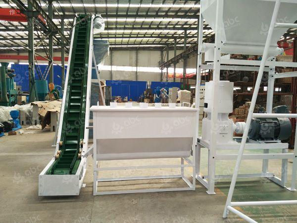 conveyor cooler and pellet mill