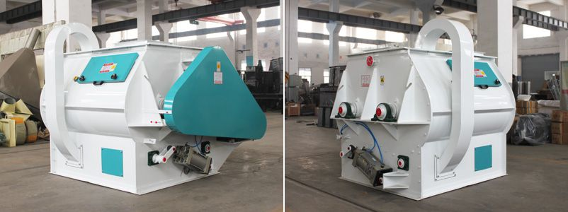 Double-shaft Paddle Batch Mixer for Feed Pellet Palnt