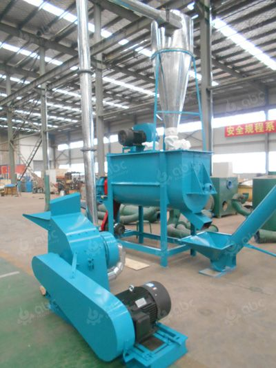 feed hammer mill STLP400 feed pellet plant