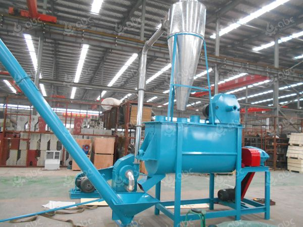 feed pellet plant crushing and mixing machines