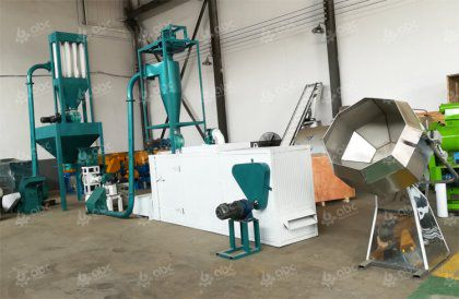 advantages and application of animal feed extruding technology