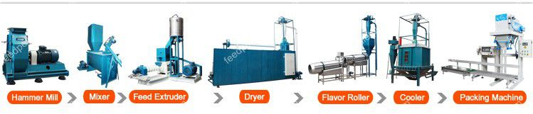 floating fish feed processing technology