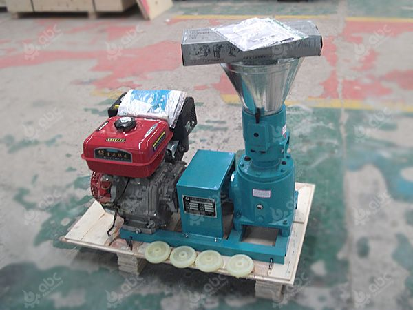 gasoline engine small feed pellet mill