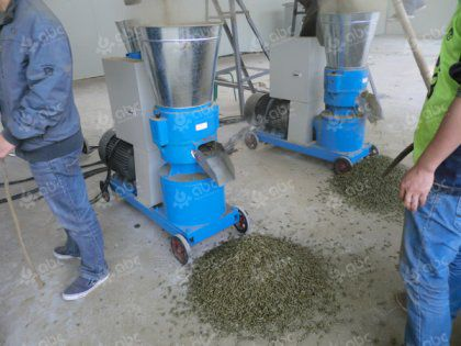 how to make feed pellets at home?