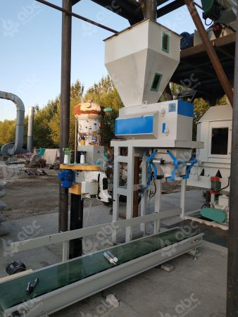 pellet packaging machine