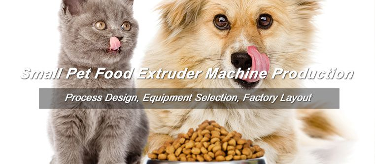 40kg/hr Small Pet Food Extruder Machine to Armenia