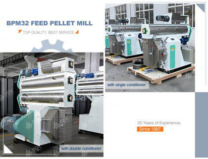 Shall I Choose Single or Double Conditioner Feed Pellet Mill?