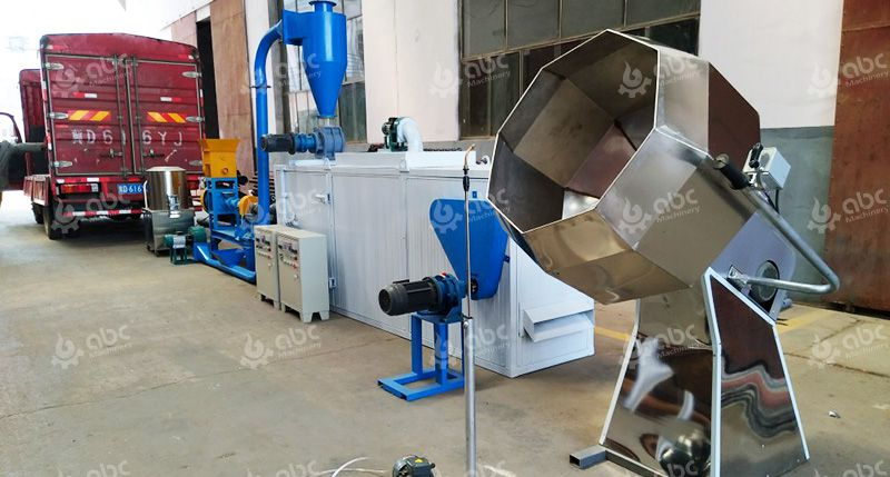 Small Pet Food Processing Line