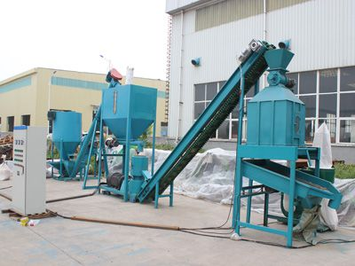 STLP300 Cow Feed Pellet Plant in South Africa 600-800kg/h