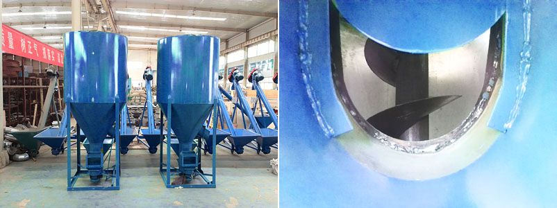 vertical feed mixer